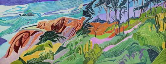 Aline Feldman new - Land's End I & II
