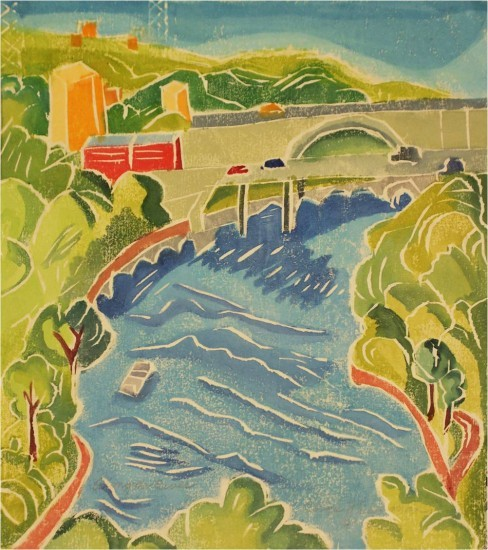 Aline Feldman new - Along the River