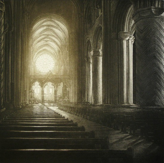 Anja Percival new - Cathedral Light  IX