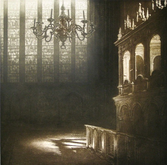 Anja Percival new - Cathedral Light VIII