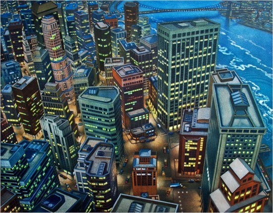 Art Werger - Skewed Perspectives: Financial District