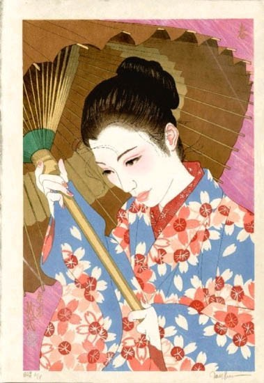 "Paul Binnie - Prints - Bijin-ga - ""Spring"" Haru"