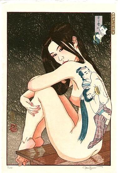 "Paul Binnie - Prints - Bijin-ga - ""Utamaro's Erotica"" Utamaro no shunga"