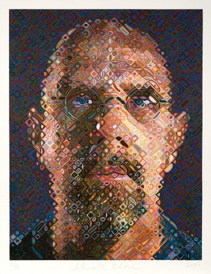 Chuck Close - Self-Portrait 2007