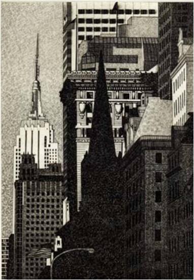 DeAnn Prosia - Looking South, Manhattan