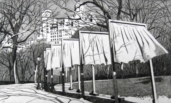DeAnn Prosia - The Gates of Central Park