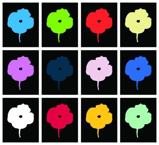 Donald Sultan - 12 Colors (set of 12)