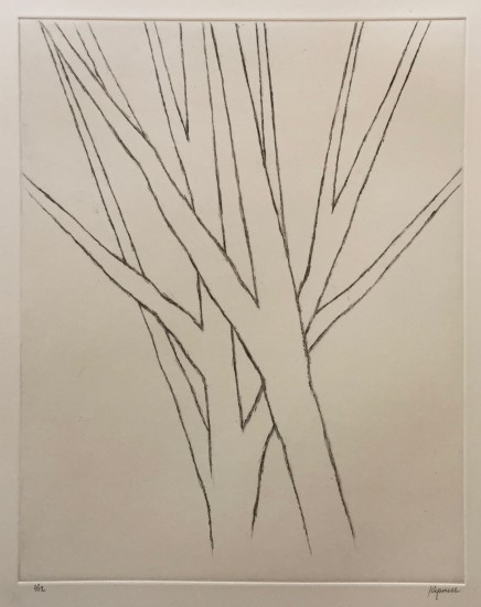 Robert Kipniss - Dry Points - Reaching