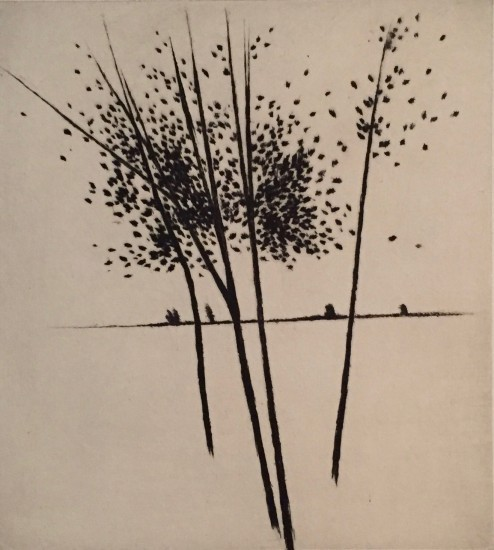Robert Kipniss - Dry Points - To the horizon