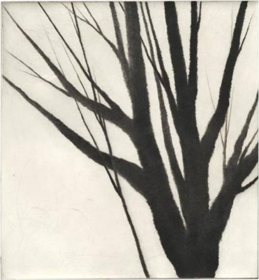 Robert Kipniss - Dry Points - Winter