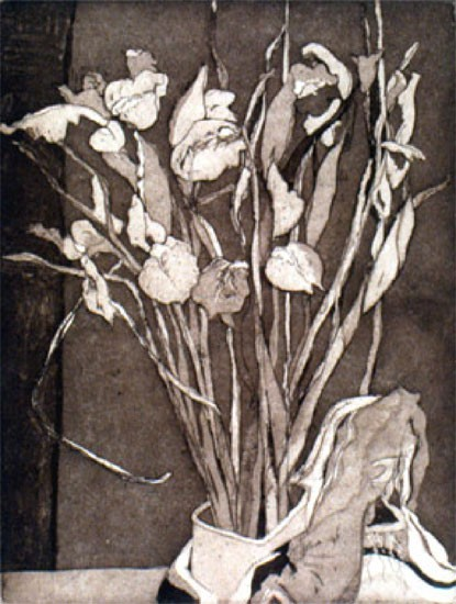 Ellen Nathan Singer - Prints - Irises