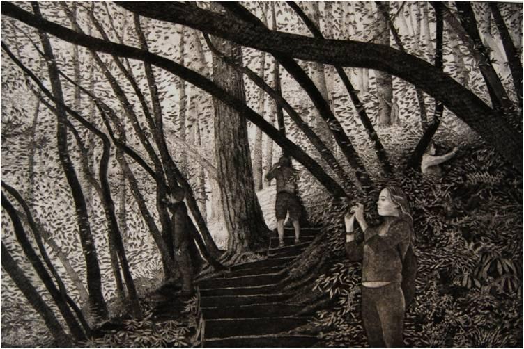 Eric Goldberg - Prints - On the Path