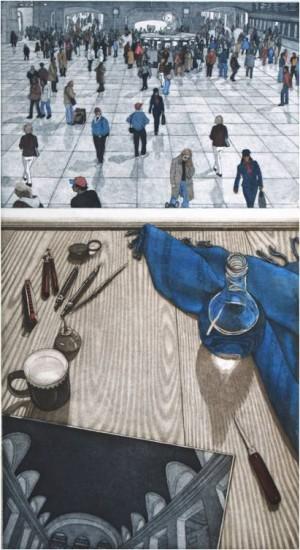 Eric Goldberg - Prints - The Station