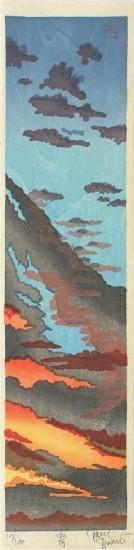 "Paul Binnie - Prints - Fukei-ga 2 - ""Dusk"" Yoi"