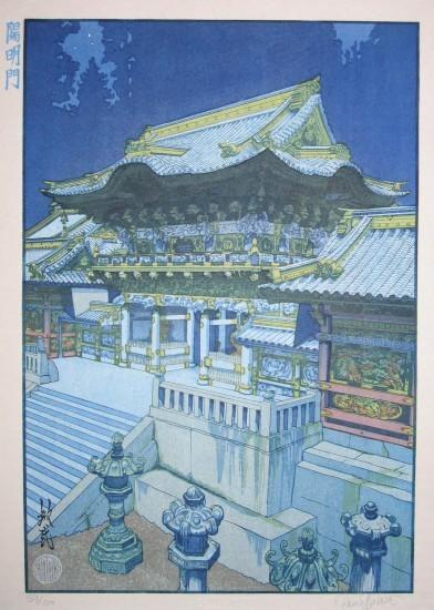 Paul Binnie - Fukei-ga - Prints - Yomeimon