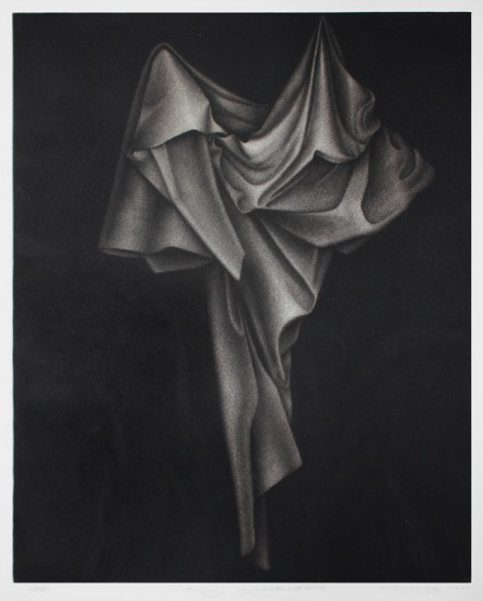 Holly Downing - Drapery Against Black
