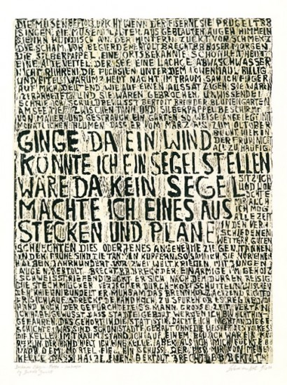 Ilse Schreiber-Noll - Buckower Elegien II - Motto