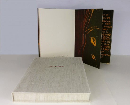 Ilse Schreiber-Noll - 14. Autumn_ Limited edition book with woodcuts and poetry by Walt Whitman
