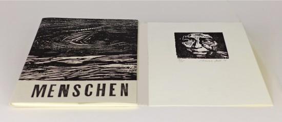 Ilse Schreiber-Noll - Menschen portfolio with 10 prints and text by Walt Whitman