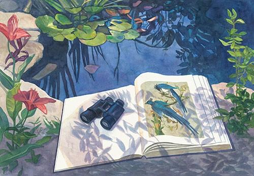 Jane Goldman - Prints - Audubon March