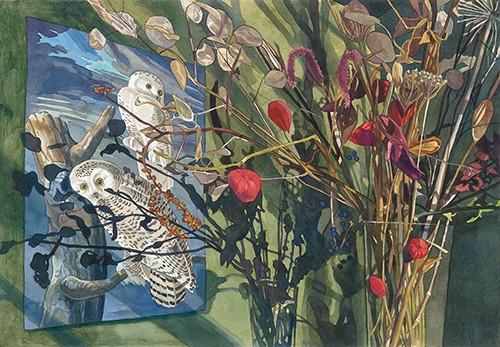Jane Goldman - Prints - Audubon December