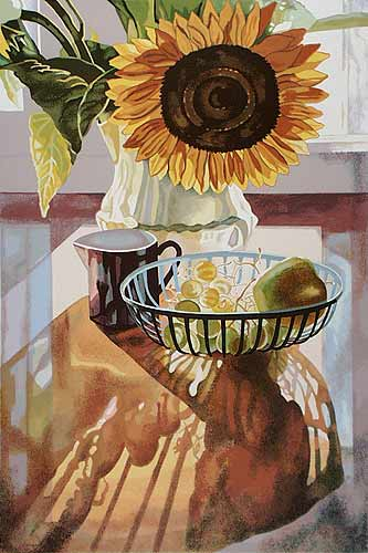 Jane Goldman - Prints - Sunflower