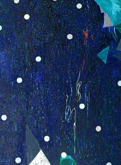 Keiko Hara Paintings - Space Sumuku-Sky