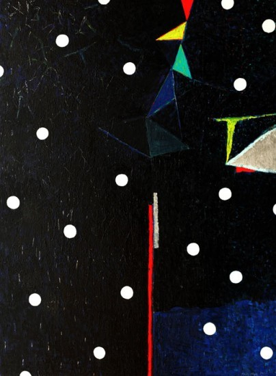 Keiko Hara Paintings - Space Sumuku-Night Sky
