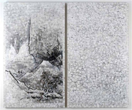 Keiko Hara Paintings - Verse Imbuing Sesshu