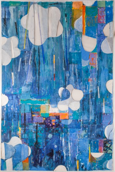 Keiko Hara - Works on paper - Verse-Ki · Blue