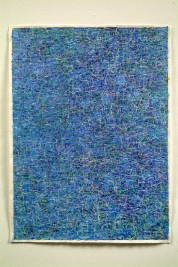 Keiko Hara - Works on paper - Verse Blue