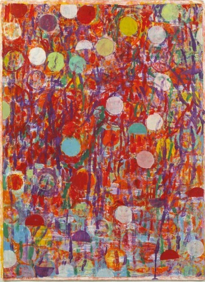 Keiko Hara - Works on paper - Verse S-M Red