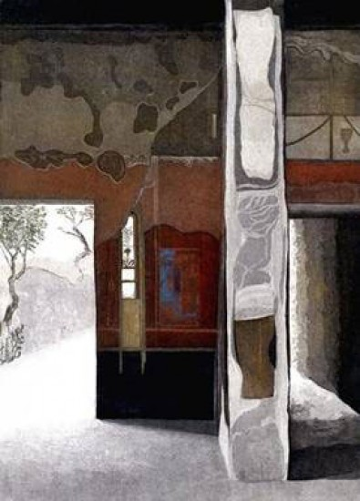 Linda Adato - Color etchings: urban landscapes and other imagery - Interlude