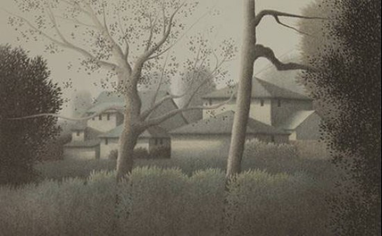 Robert Kipniss - Lithographs - As the Rain Ends