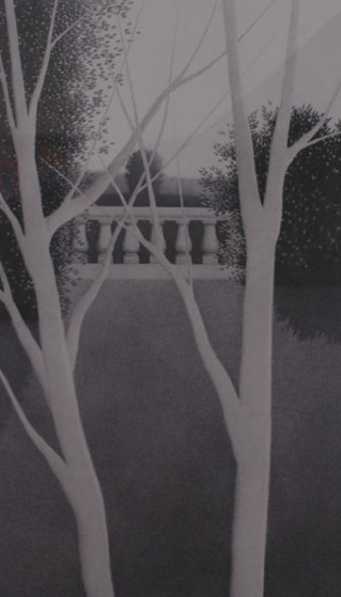 Robert Kipniss - Lithographs - Balustrade