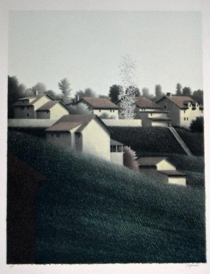 Robert Kipniss - Lithographs - Evening Sun