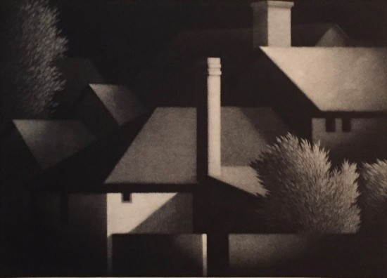 Robert Kipniss - Mezzotints - At Shire
