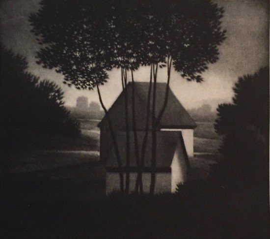 Robert Kipniss - Mezzotints - Evening