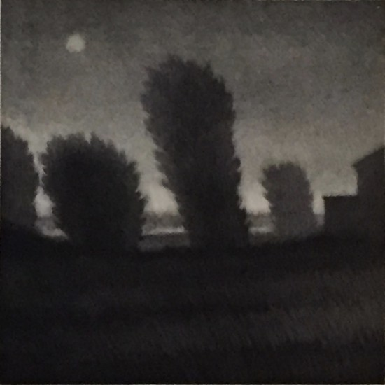 Robert Kipniss - Mezzotints - House at the edge of the plain
