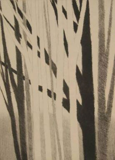 Robert Kipniss - Mezzotints - Pages from a Sketchbook: #3