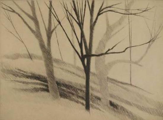 Robert Kipniss - Mezzotints - Pages from a Sketchbook: #4