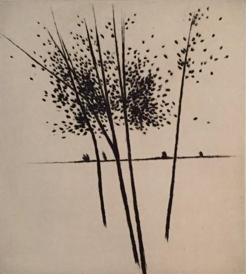 Robert Kipniss - Mezzotints - To the horizon