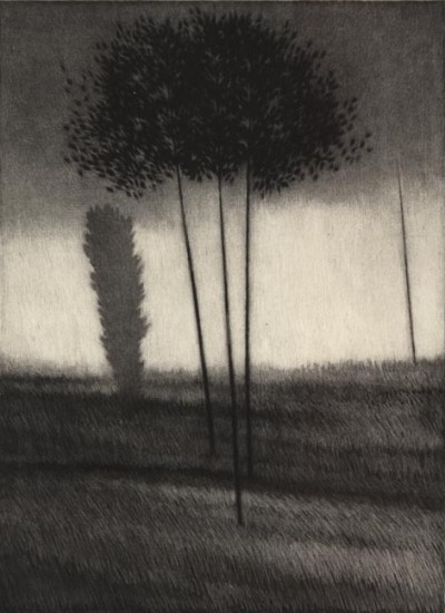 Robert Kipniss - Mezzotints - Beginnings