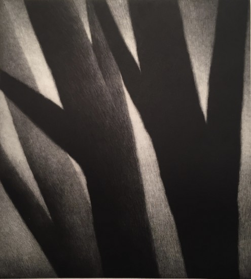Robert Kipniss - Mezzotints - Large figures at dusk