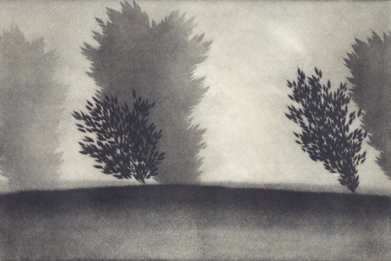 Robert Kipniss - Mezzotints - Summer Clouds