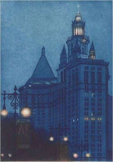 Michael Arike - Municipal Building, Night