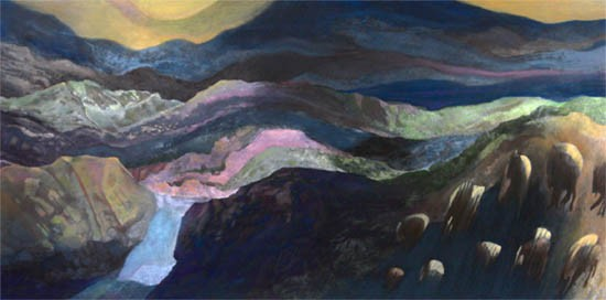 Murray Zimiles - Buffalo Stream