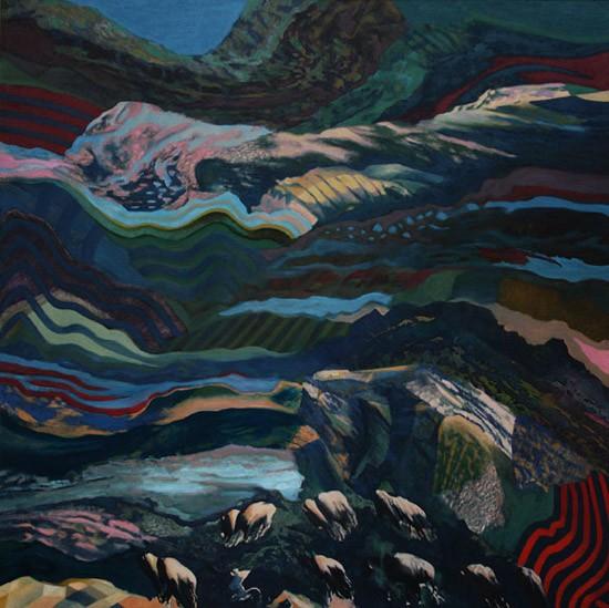 Murray Zimiles - Layered Landscape