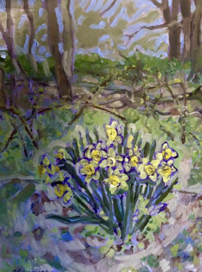 Richard Lang Chandler - Last Daffodils of Spring
