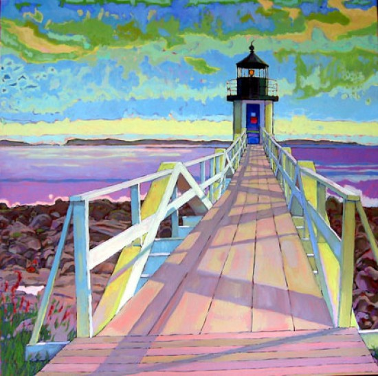 Richard Lang Chandler - Marshall Point Light